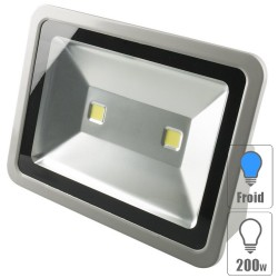 Projecteur led 200w Blanc froid