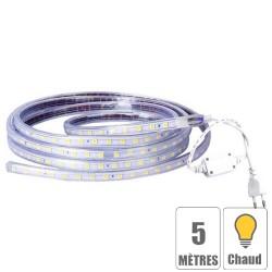 Ruban led 220V IP67 étanche Blanc froid