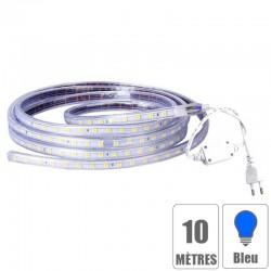 Ruban led 220V IP67 étanche Bleu