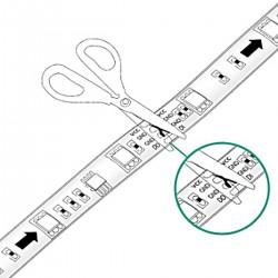 Ruban led 5 mètres blanc chaud 300led smd5050 IP65