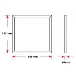 Dalle led 60 cm x 60 cm blanc neutre