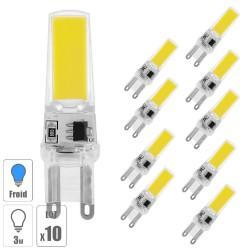 Lot x10 ampoule led G4 COB 3W blanc froid