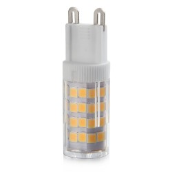 Lot x10 ampoules led G9 5W SMD blanc froid