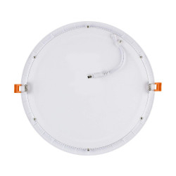 Spot led encastrable dalle ronde extra plat 24W blanc froid