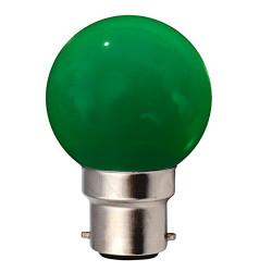 Lot de x10 ampoule LED B22 baionnette RGB de couleur style guiguette pour guirlande