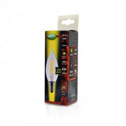 Lot de x10 ampoule LED 4W à filement culot E14 à vissé