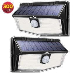 300 LED Lampe Solaire...